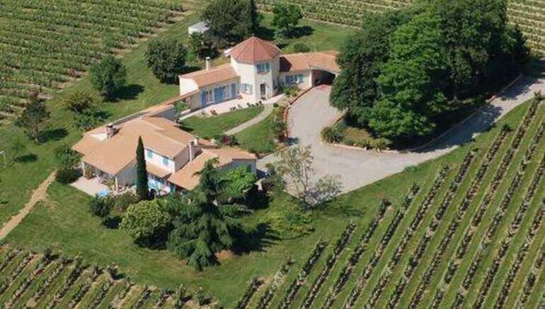 Le gîte Les Vignes de Michelet