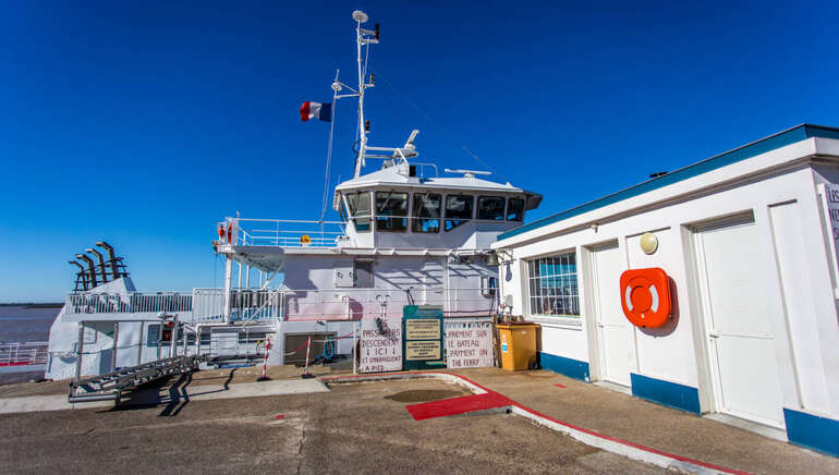 Port de Blaye (embarcadère du bac)