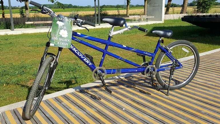 Location de vélos à la Maison de Loire du Cher