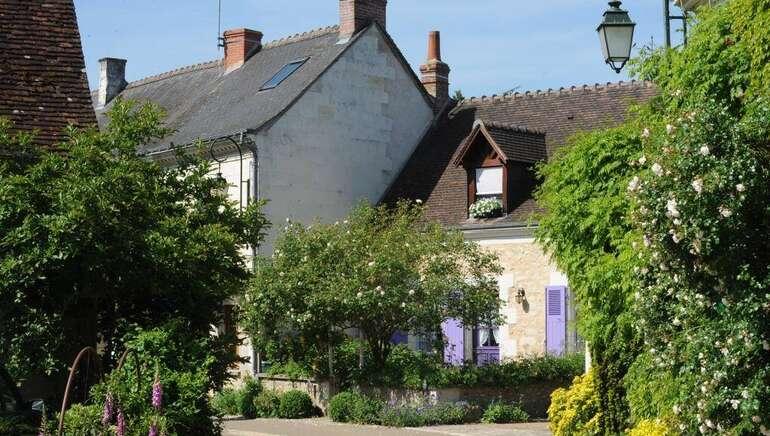 """Village de Chédigny """"Jardin Remarquable""""et fleur d'or"""