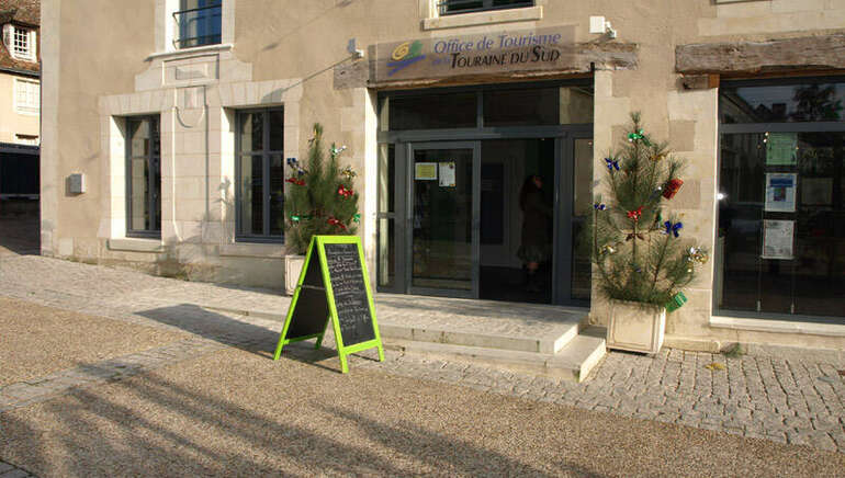 Bureau d'information touristique au Grand-Pressigny