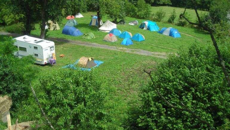 Camping à la ferme de la Gilberdière