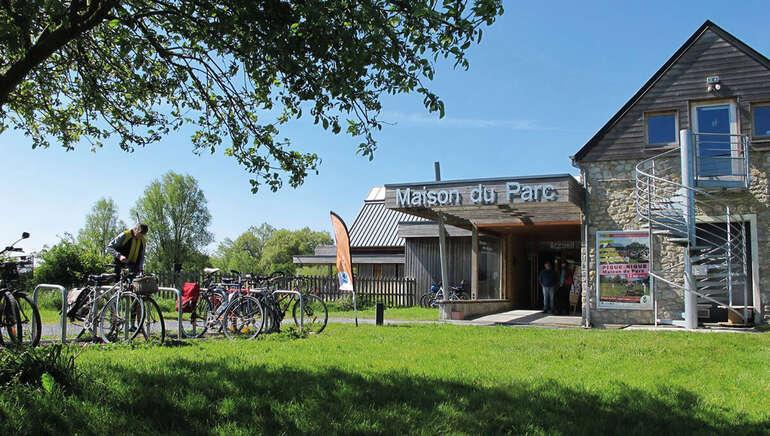 Location de vélos > Maison du Parc naturel régional des Marais du Cotentin et du Bessin
