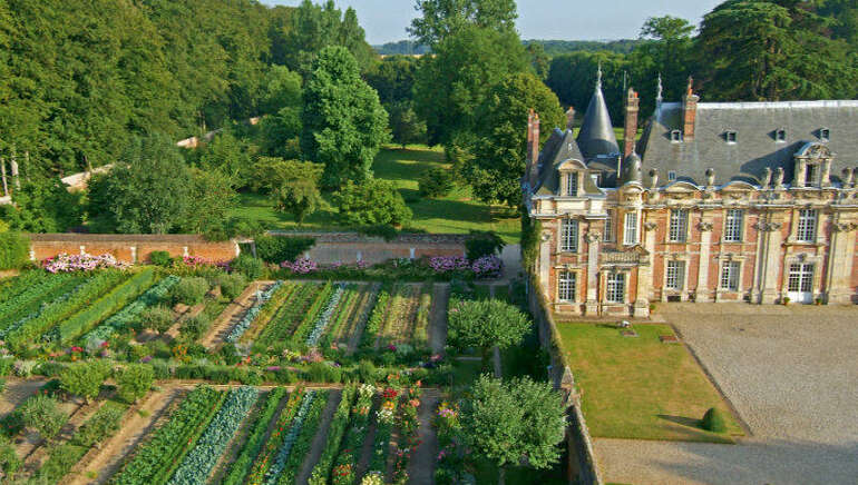 Jardin Potager du Château de Miromesnil