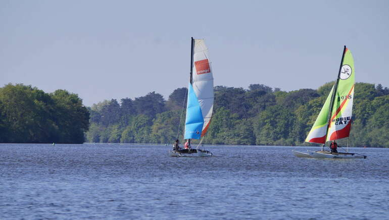 Catamaran hobie cat 16