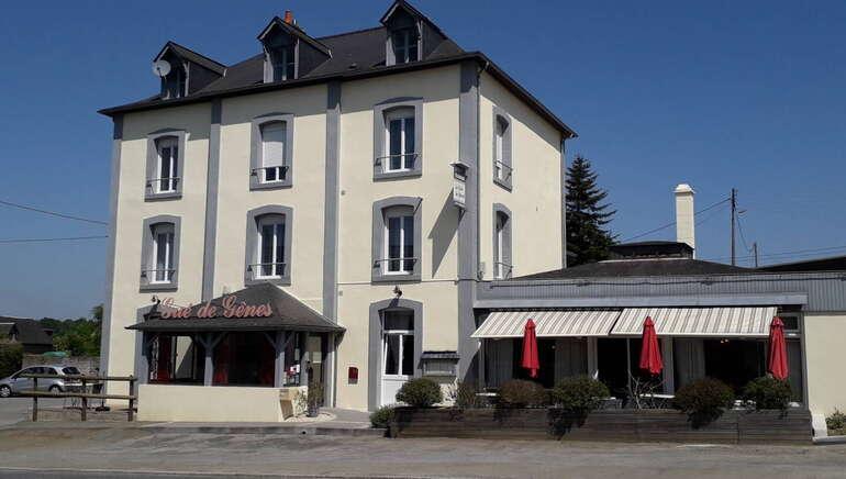 Hôtel Restaurant le Gué de Gênes, Mayenne