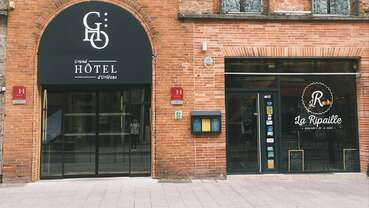 facade Grand Hotel Orleans TOULOUSE