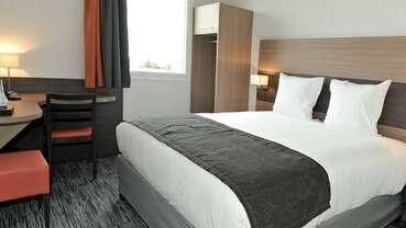 chambre double hotel dios BRUGUIERES